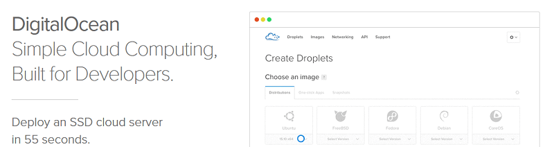 digital ocean uses simplicity to stand out