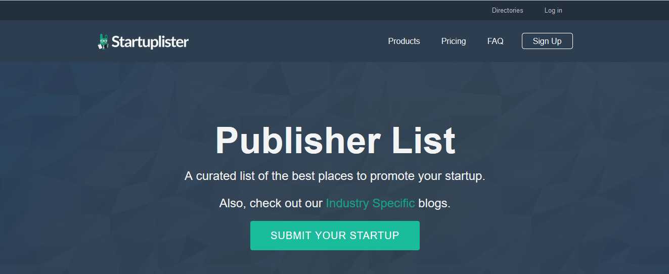 curated list of the best places to promote your startup