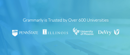 grammarly uses trusted to sell