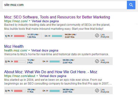 how to use moz seo toolbar