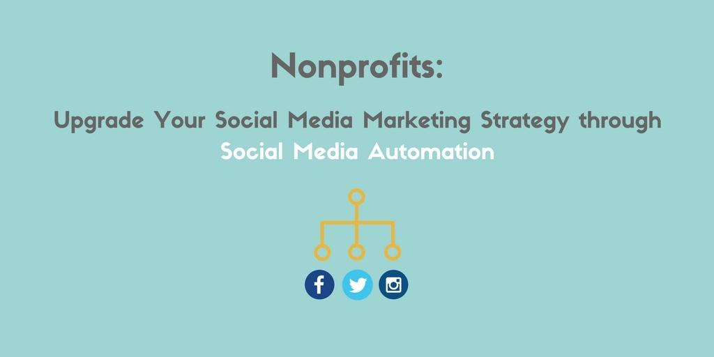 nonprofits social media automation