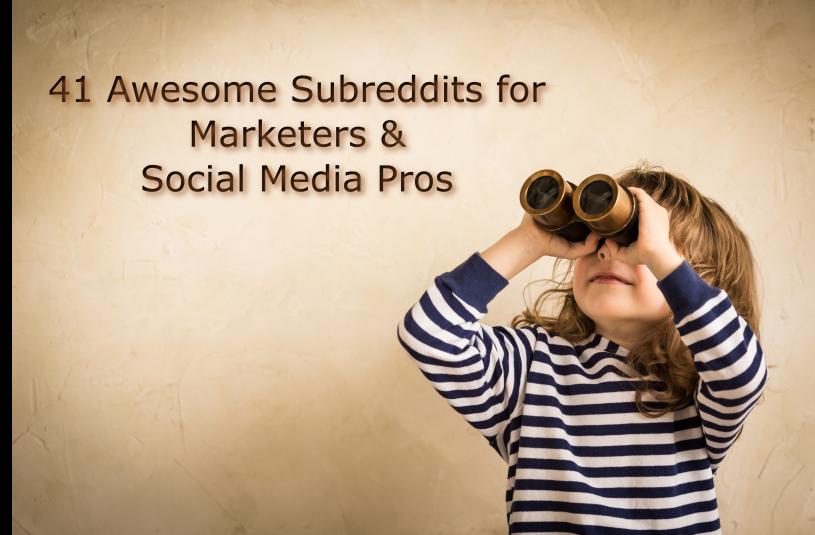 Digital Marketing SubReddits
